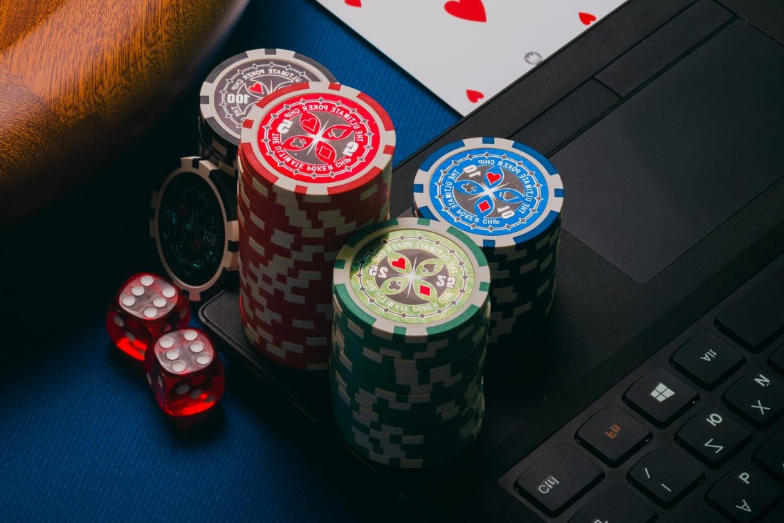 jetons de poker sur ordinateur pour casino en ligne
